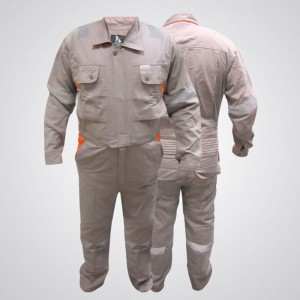 D592 Doha Coverall With Reflective Tape