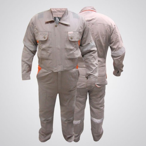 Doha Coverall Light Gray