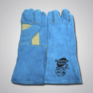 Cow Split Leather Welding Gloves WGGT210