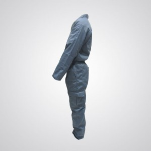 Cotton Pre-Shrink Coverall Gray