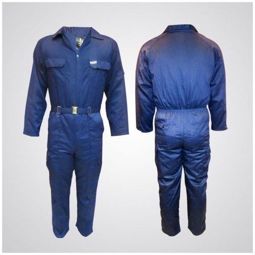 P989NV Cotton Pre-Shrink Coverall Navy