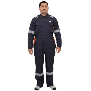 Doha Coverall Navy Blue