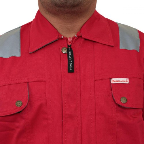 Doha Coverall Red