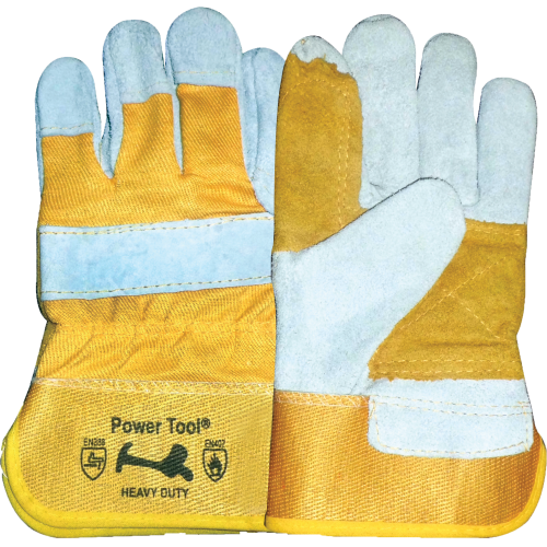 Cow Split AB Grade Leather Full Palm Glove 1349