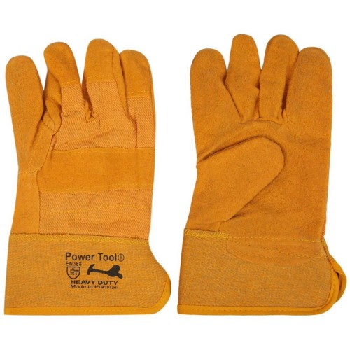 Yellow Fabric Glove