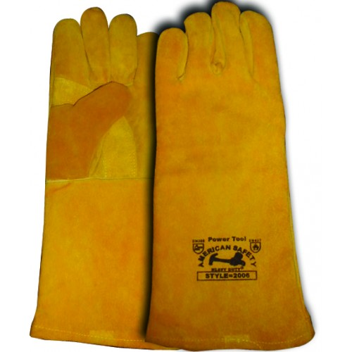 Cow Split Leather Welding Gloves 212