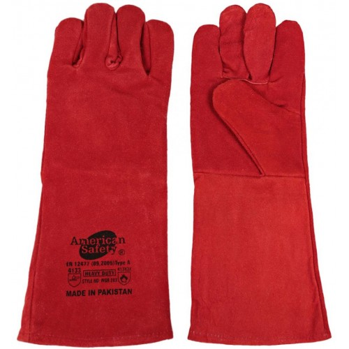 Cow Split Leather Welding Gloves WGR 203