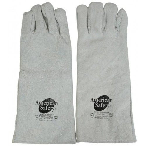 Cow Split Leather Welding Gloves WGW 204