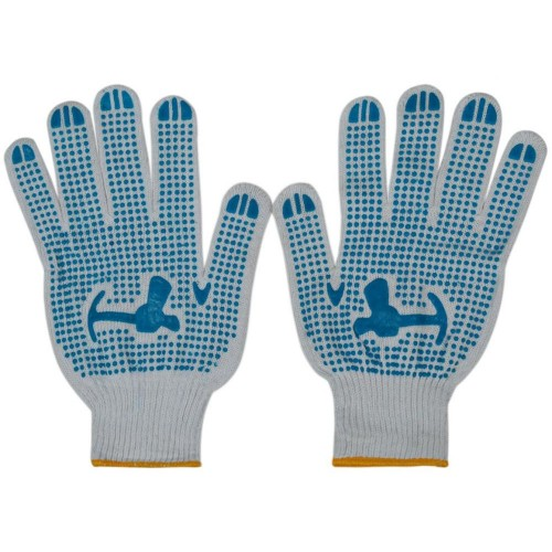 Dotted Cotton Gloves NH19