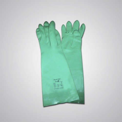 Green Nitrile Gloves GL1015