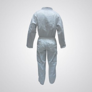 Cotton Pre-Shrink Coverall White