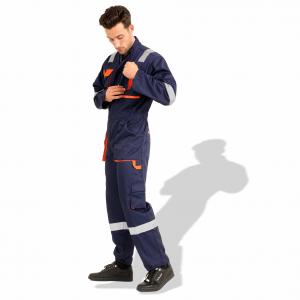 Coverall European Style Navy