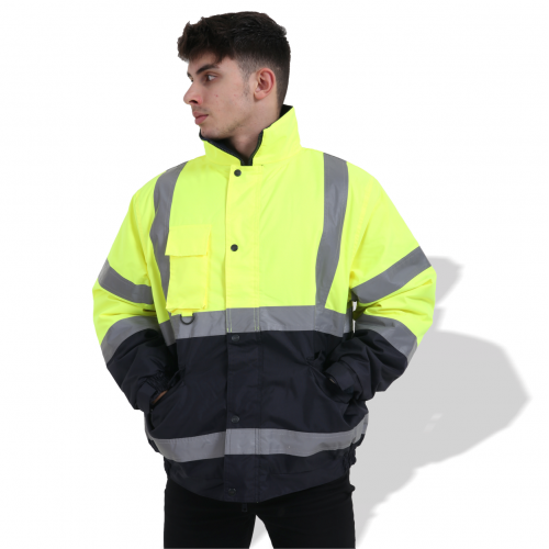 FP1655 Fluorescent Parka with Reflective Tape