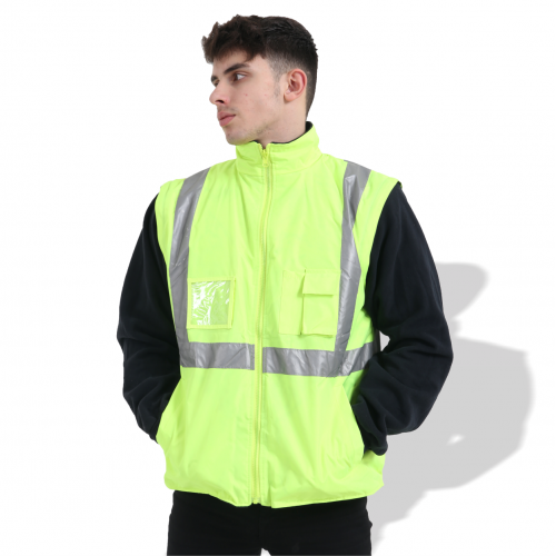 FP1654 Fluorescent Parka with Reflective Tape
