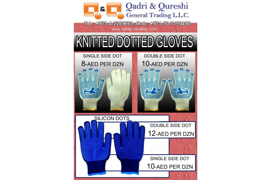 KNITTED DOTTED GLOVES PROMOTION 170904-01