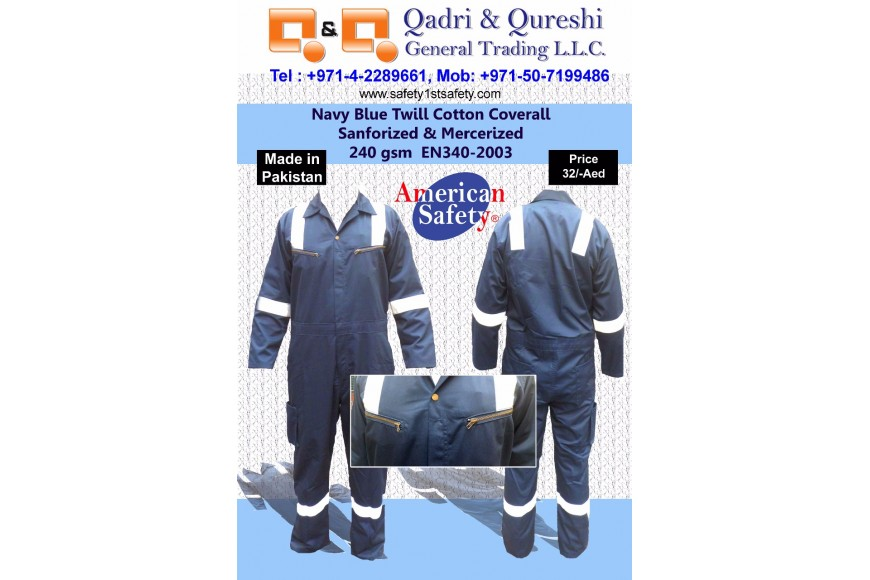 Twill Cotton Coverall: Limited Time Offer