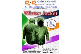 Winter Jacket : Prime Captain Offer Lasting Protection