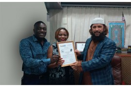 Muhammad Ashraf Qadri Awards Distributorship to Spring Joy Trading (Zimbabwe)